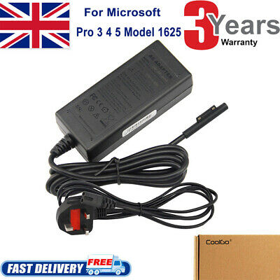 AC Charger Power Charge For Microsoft Surface Pro 3/4/5/6 +UK Mains Power Supply