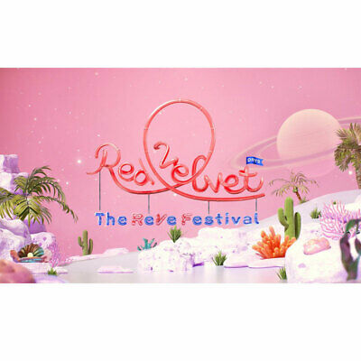RED VELVET THE REVE FESTIVAL' DAY 2' [GUIDE BOOK / DAY 2 ver.] PACKAGE + POSTER