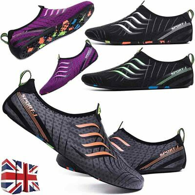 Women Men Water Shoes Aqua Diving Surf Socks Wetsuit Non-slip Swim Beach Sports