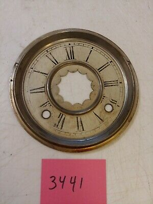 Antique Ingraham Gingerbread / Parlor Clock  Dial