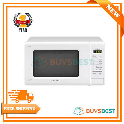 Daewoo 20 Litre Duo-Plate Touch Control Microwave 800 W In White - KOR6M1RDWR