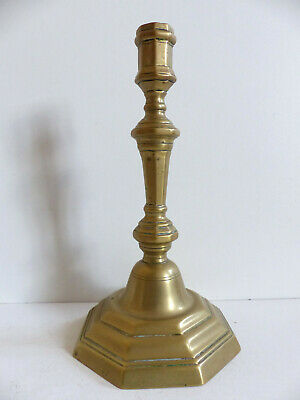 SUPERB MID 18th CENTURY ANTIQUE FRENCH BRONZE CANDLESTICK 1750's