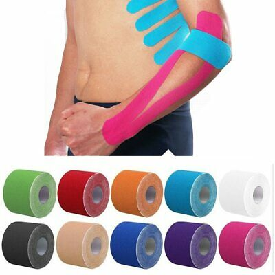 2 Size Kinesiology Tape Perfect Support for Athletic Sports, Recovery and