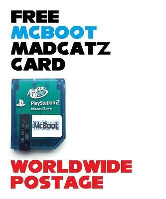 Free McBoot (FMCB) Version 1.966 / Madcatz 8MB SONY PlayStation 2 Memory Card