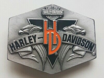 Vintage Harley Davidson Belt Buckle - 1992 Harmony S-88 Official Product