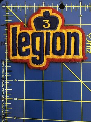 Royal Canadian Legion 3 Patch RCL Canmore Alberta AB Branch Veterans Chatham NB