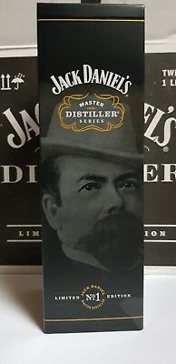 Jack Daniels Master Distiller one BOX NO 1Paper seal Limited Edition EU Version