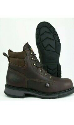 cc21ca691b4 NEW THOROGOOD SAFETY Toe Work Shoes USA Union Made 1957 Series Boots ...