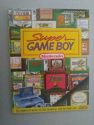 NICE** Super Game Boy Nintendo Player's Strategy Guide
