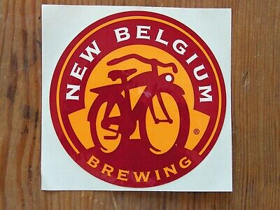 New Belgium Brewing Co. Sticker ~NEW! Craft Beer Brew Logo Brewery Decal~