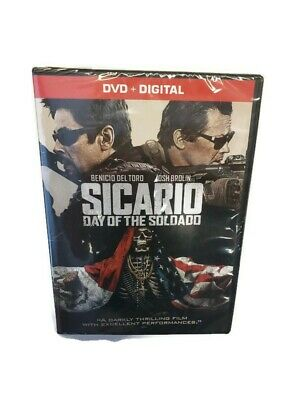 Sicario: Day Of The Soldado DVD + Digital 2018 New And Sealed