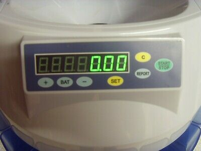 Automatic UK Coin Counter Sorter Money Cash Counting Electronic Machine Old £1