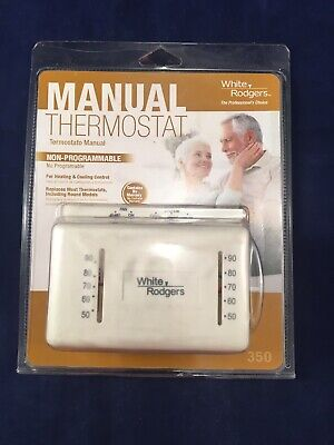 NEW HUNTER MECHANICAL Thermostat 47035 for Heating & Cooling