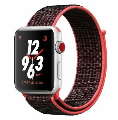 Apple Watch Series 3 NIKE+ 42 mm GPS + Cellular 4G, 100% New, Warranty, Unlocked