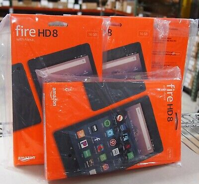Fire HD 8 (8th Gen) Tablet, 16 GB, Wi-Fi, 8 inch HD, Black (with Special Offers)