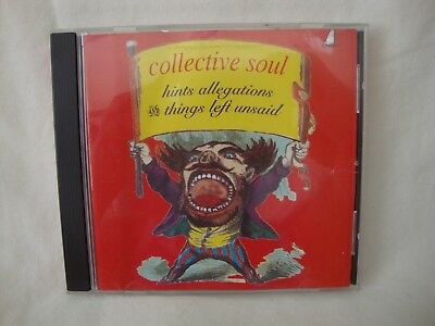 Collective Soul CD Hints Allegations and Things Left Unsaid 1993 Atlantic