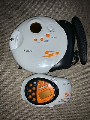 Sony Sports CD Walkman D-SJ301 &Sony AM FM Weather Walkman SRF – M80V