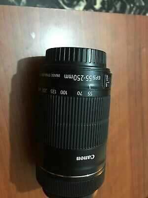Canon EF-S 55 mm - 250 mm F/4-5.6 IS STM Lentes