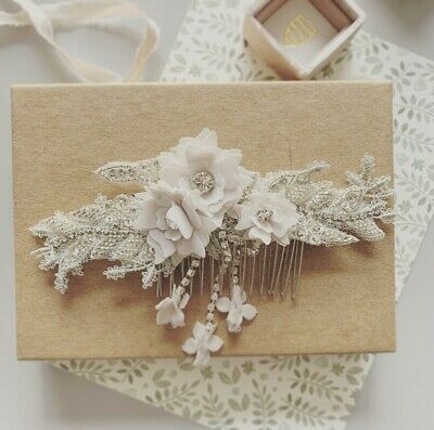Bridal Hair Accessory Comb - Boho Boutique / BHLDN style - Orig. $275