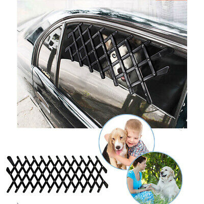 Breathable Ventilation Universal CarWindow Barrier Security Window for Pet Dogs