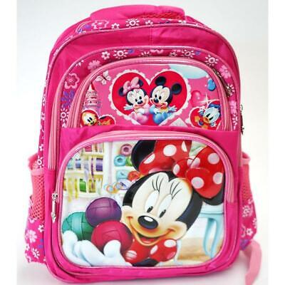 Girls Disney Minnie Mouse  Large Backpack