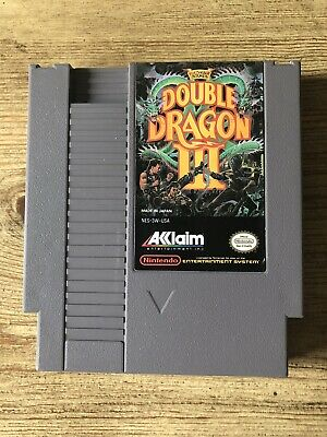 Double Dragon III / 3 - Nes ( Nintendo Entertainment System ) Game Only !