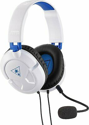 Turtle Beach Ear Force Recon 50P White Stereo Gaming Headset - PS4 and Xbox...