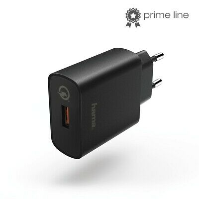 """Hama Charger """" Qualcomm Quick Charge™ 4.0 """", Black"""