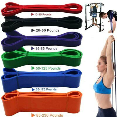 Rubber Resistance Band Fitness Workout Elastic Training Bands For Gym Pilate