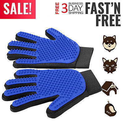 1 Pair Cleaning Brush Magic Glove Pet Dog Cat Massage Hair Removal Grooming