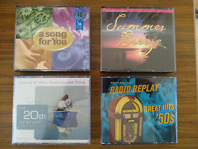 Readers Digest Music: Summer Breeze,Greatest Hits Of The 50'S & 2 More Cd Sets