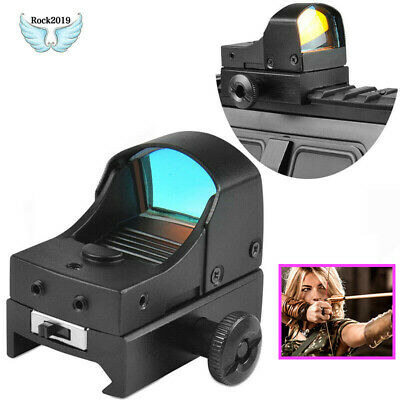 Tactical Red Dot Sight Compact Holographic Reflex Micro Red Dot Scope Rifle&Pist
