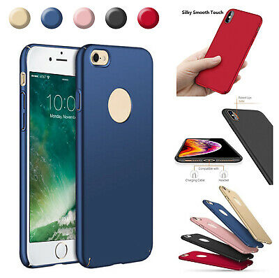 For iPhone 11 Pro Max XS XR 7 8 6S Case Ultra Thin Hybrid Protective Hard Cover
