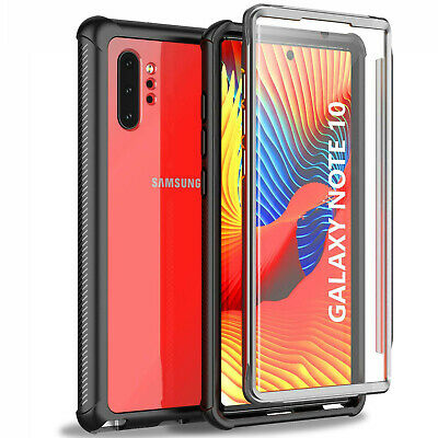 For Samsung Galaxy Note 10+ Plus shockproof Cover Built-in Screen Protector Case