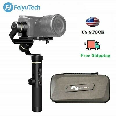 FeiyuTech G6 Plus 3-Axis Stabilized Handheld Gimbal for Gopro mirrorless camera