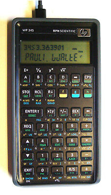 ++ Programmable RPN calculator WP-34s based on HP-42s / HP-20b + USB + TIME + IR