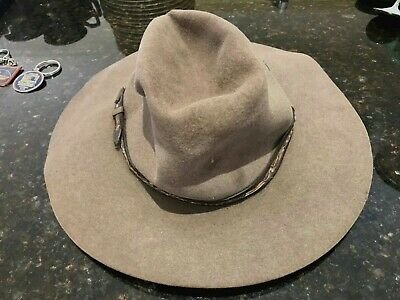 Akubra Men's Hat-Australian-Size 57-Used-Circa 1950's-Rare Hat-One Only.