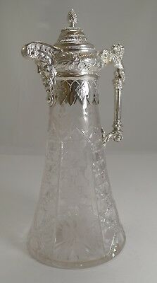Superb Antique English Claret Jug c.1880