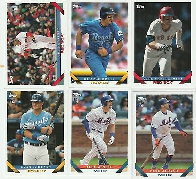 2019 Topps Archives Baseball 1993 Designed U-Pick Complete Your Set Alonso Rc