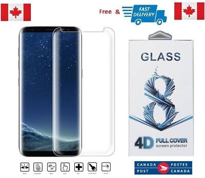 Case Friendly Samsung Galaxy S8+ PLUS Curved Tempered Glass Screen Protector