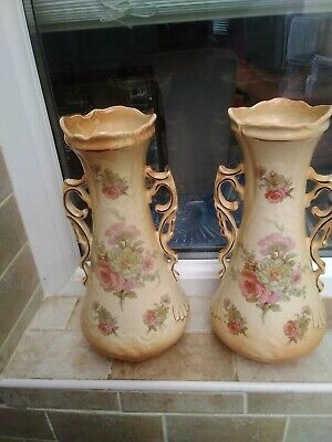 Pair Of Antique Vases
