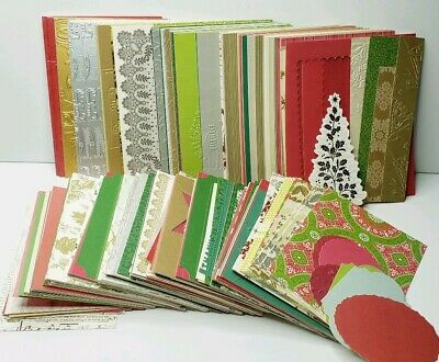 Crafting Designer Front Paper Card Making Scrapbook Various Over 300 Pieces