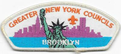 Brooklyn Greater New York Councils Strip CSP Vintage Boy Scouts of America BSA