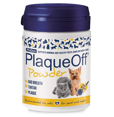 Cleans Teeth Bad Breath and Removes Plaque Dog and Cat Powder Food Supplement