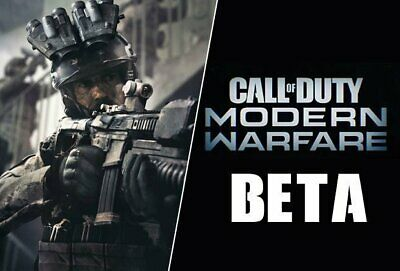 Call of Duty Modern Warfare EARLY ACCESS/BETA - (PS4 / XBOX / PC) WORLD WIDE