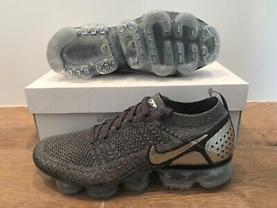 Nike Air Vapormax Flyknit 2 Running Shoes Dark Grey Chrome SZ ( 942842-014 )