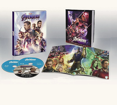 Avengers Endgame (Target Exclusive) 4K Ultra HD/Blu-ray/Digital Fast Shipping