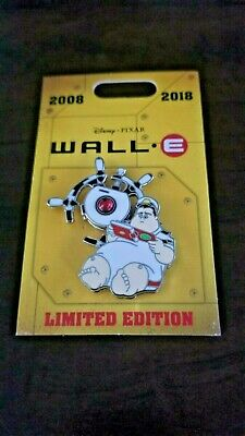 Disney PIXAR Wall-E 10th Anniversary Pin LE 2000 Captain McCrea Spinner