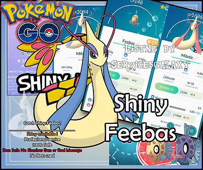 Pokemon Go Shiny Feebas Milotic 100% guaranteed