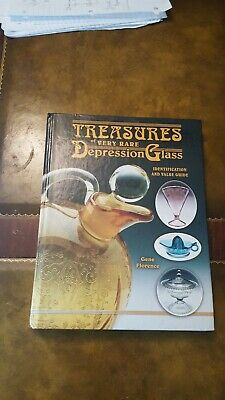 Treasures Of Very Rare Depression Glass Ident.& Value Guide By Gene Florence